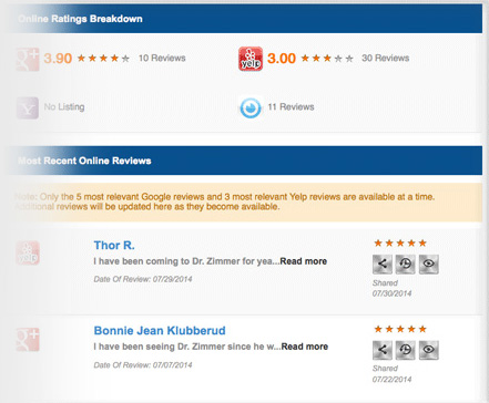Manage your reviews from various sources