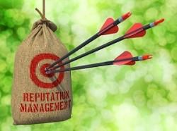 Reputation Management - Arrows Hit Target.
